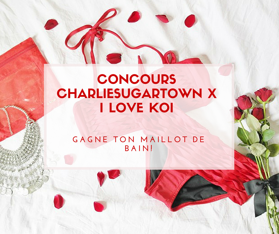 Concours Charliesugartown X I love koi