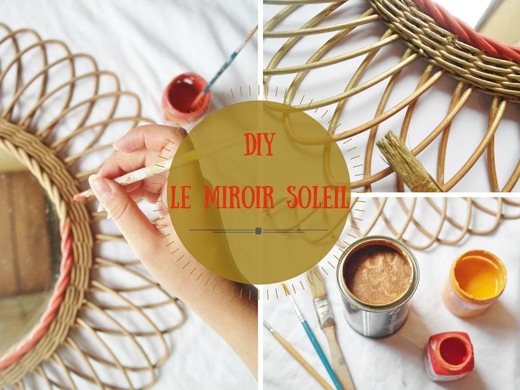 DIY – Le miroir soleil 70's –