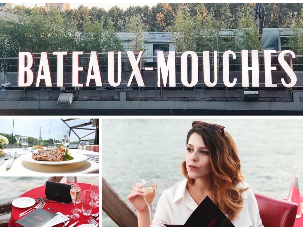 Dîner croisière La Compagnie des Bâteaux Mouches Paris Charlie Sugar Town