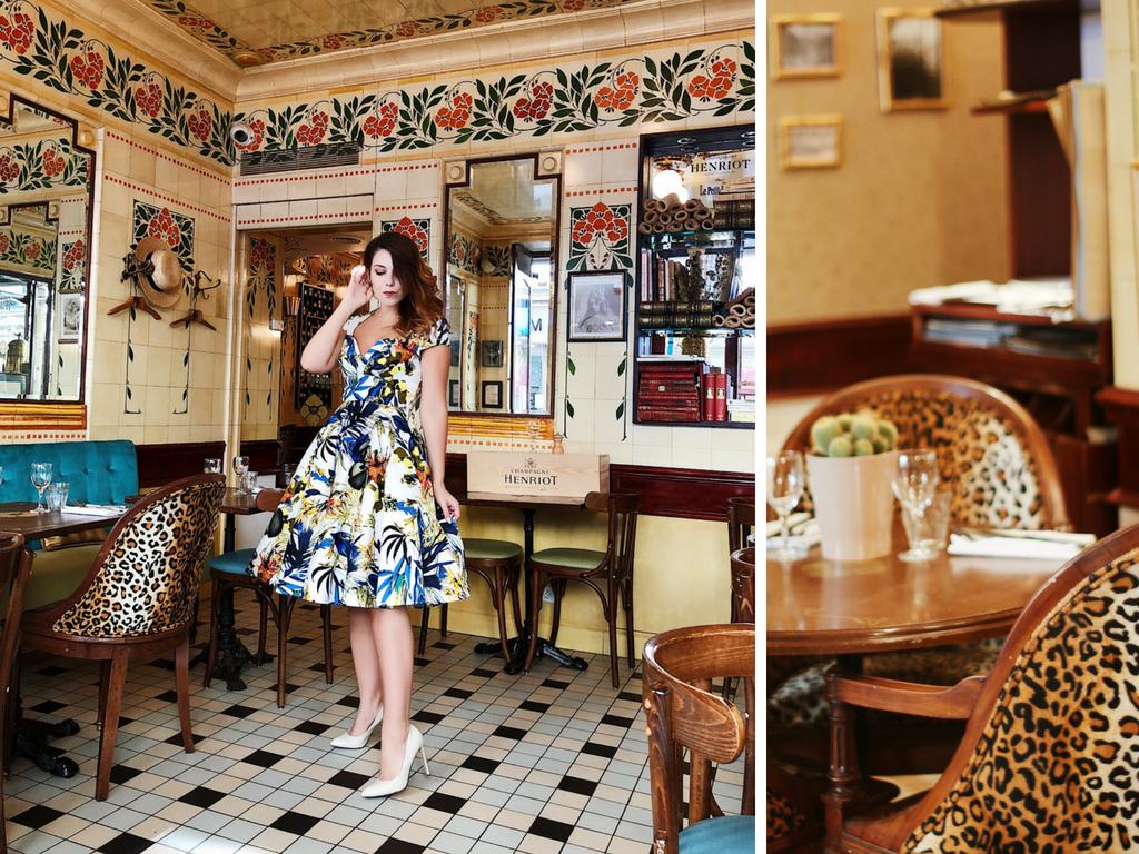 Restaurant rétro vintage, restaurant Le Petit Rétro Paris, bonne adresse paris Charlie Sugar Town