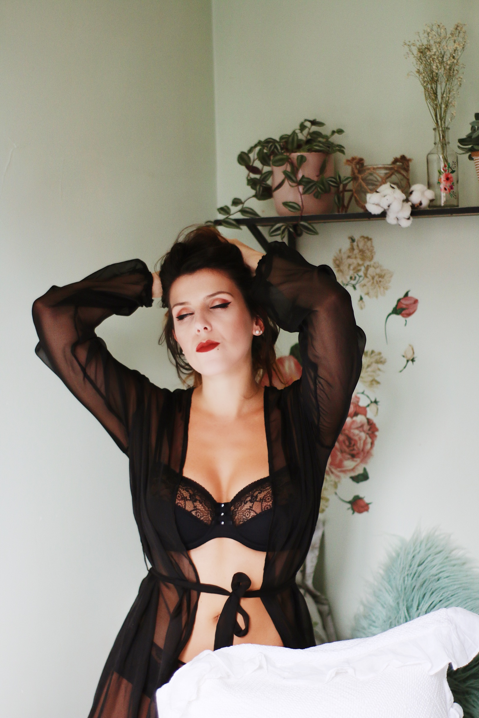 Lingerie Marie Jo Glamuse pin up blog retro vintage Paris Charlie Sugar Town