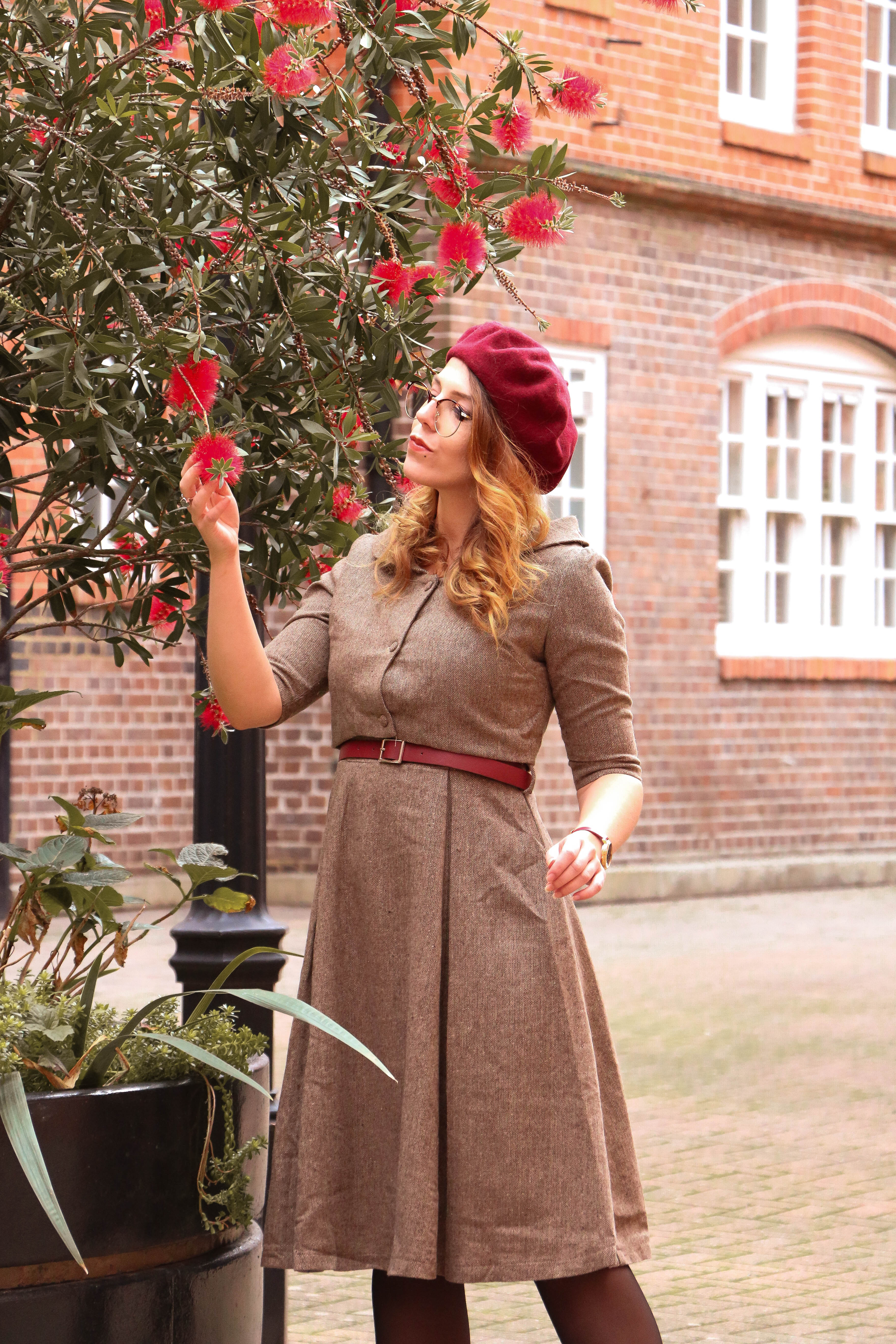Look londonien vintage Lindy Pop Charlie Sugar Town Londres Pin up blog rétro vintage paris