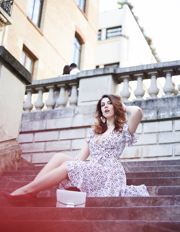 robe fluide asymétrique ikone paris summer collection @Charliesugartown rétro vintage blog photos @taro.lawliet