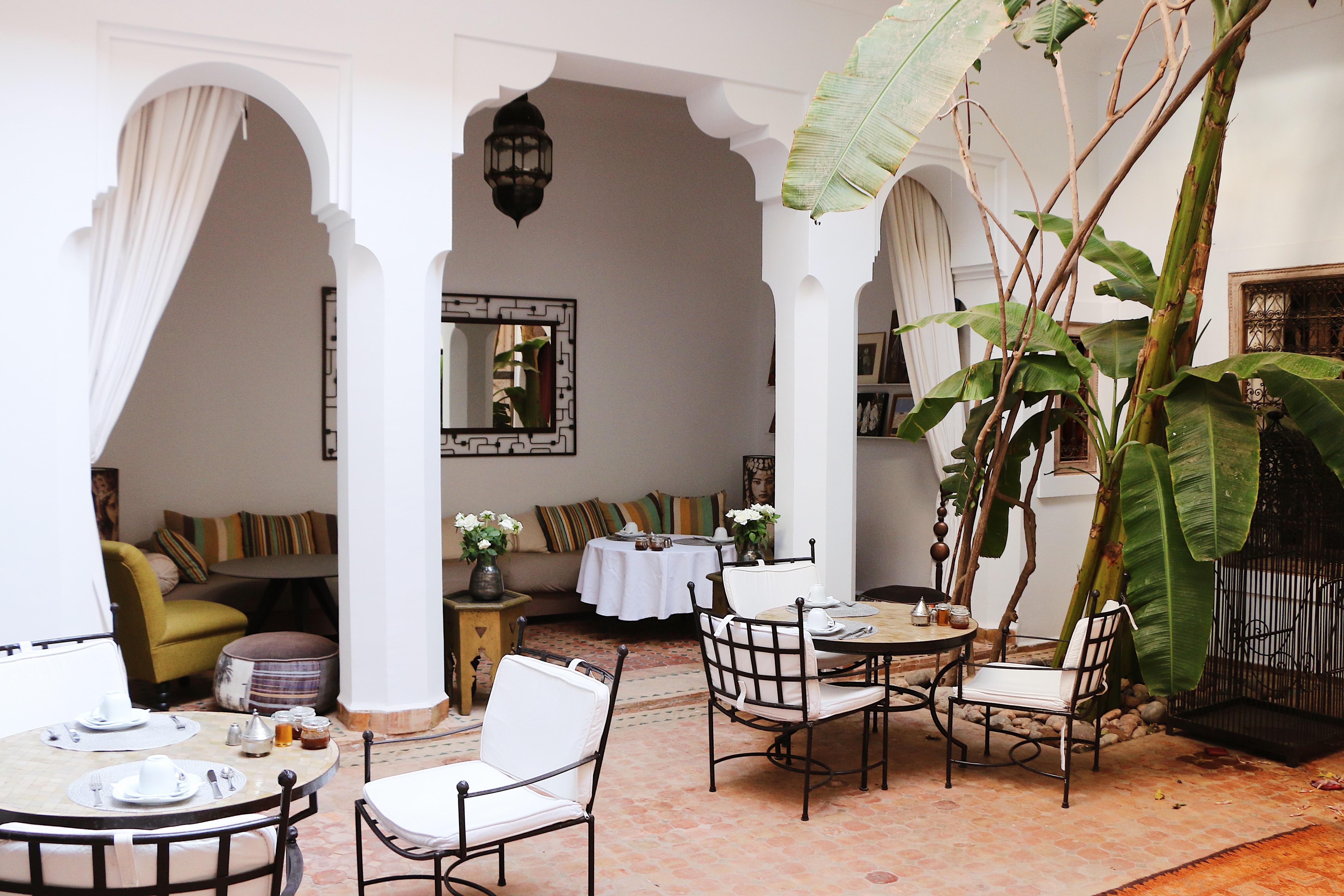 Voyager à Marrakech, Riad Marrakech, médina, hotel, B&B Marrakech, patio riad, décoration riad