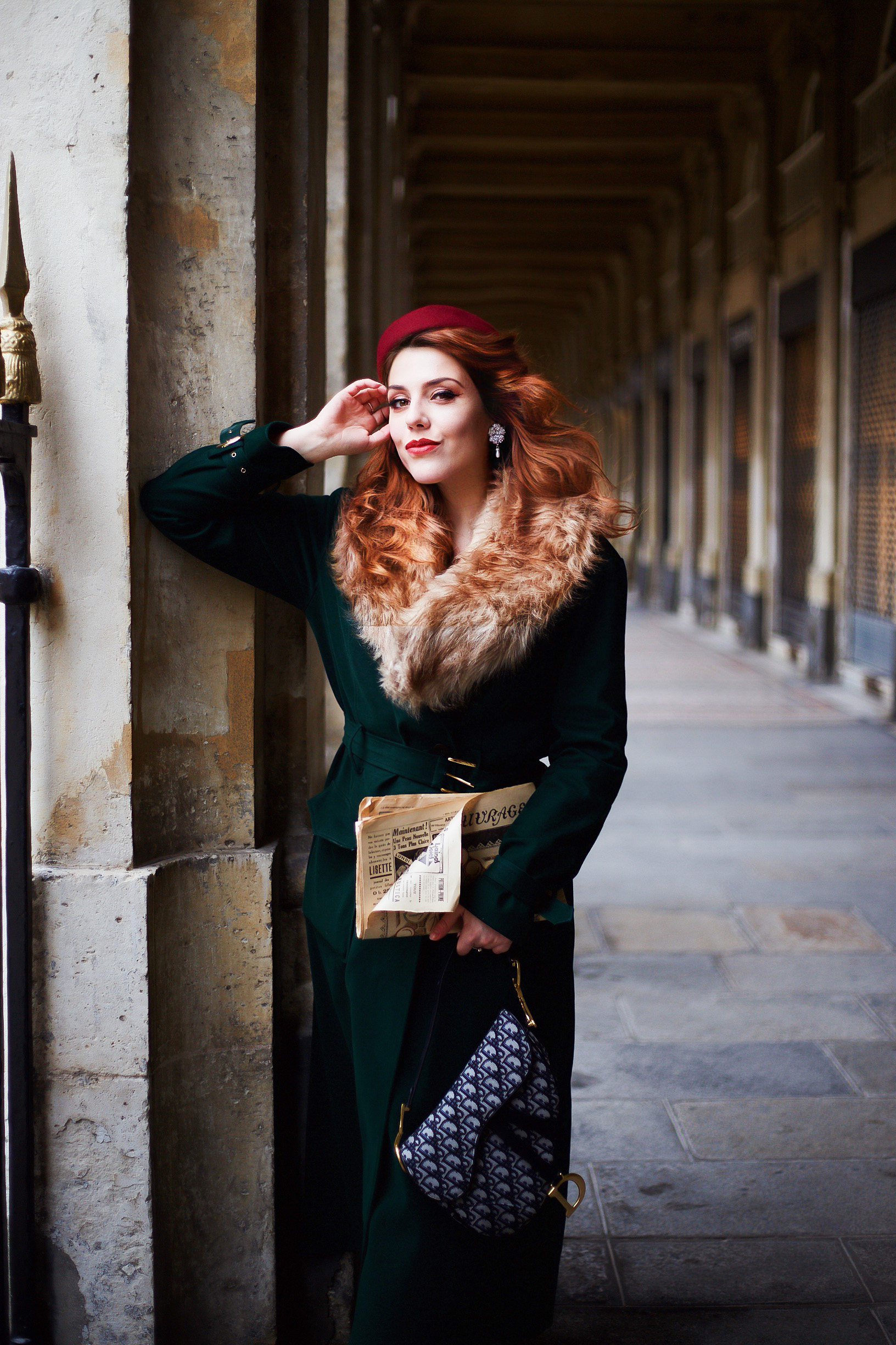 manteau rétro vintage Yvette Libby N'Guyen pin-up fashion blog charliesugartown