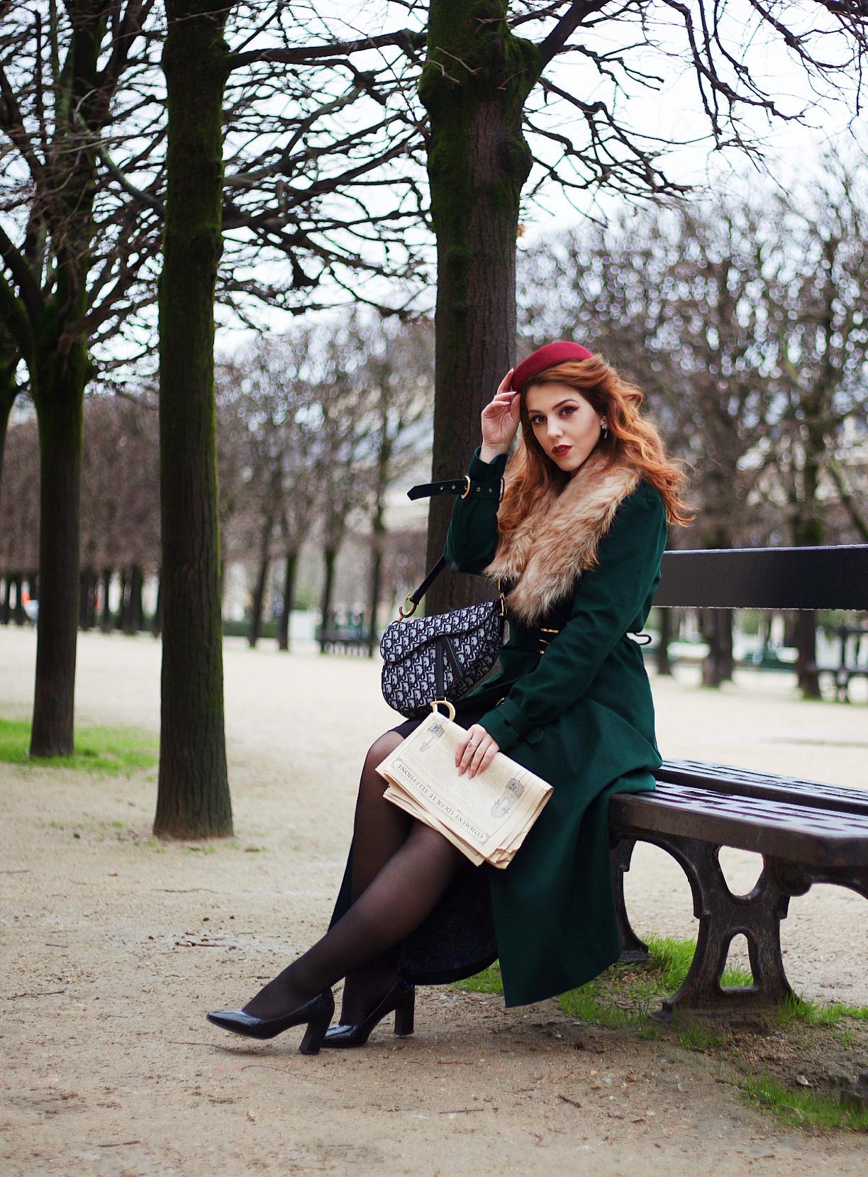 manteau rétro vintage Yvette Libby N'Guyen