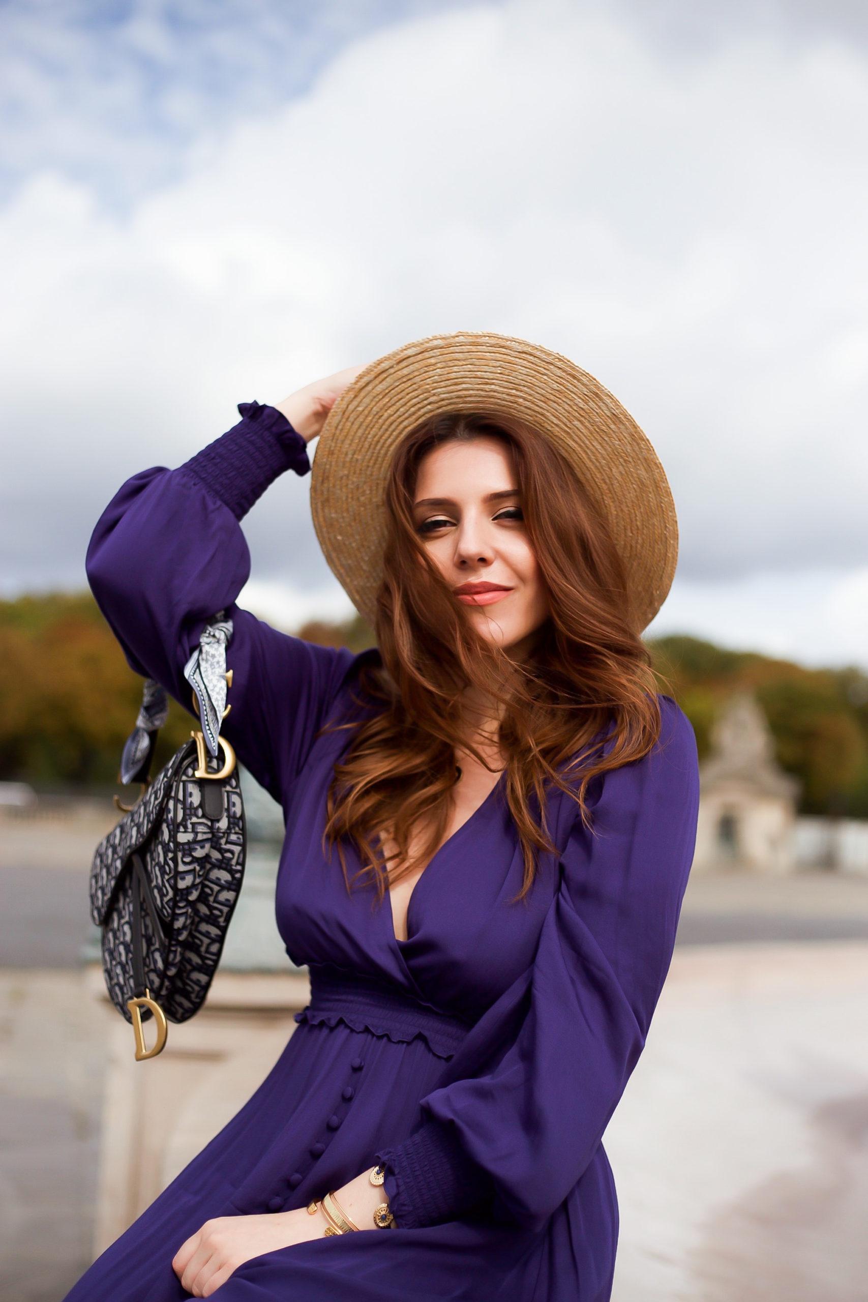 parisienne paris luxe dior beauté rousse portrait blogueuse influenceuse mode charlie suger town