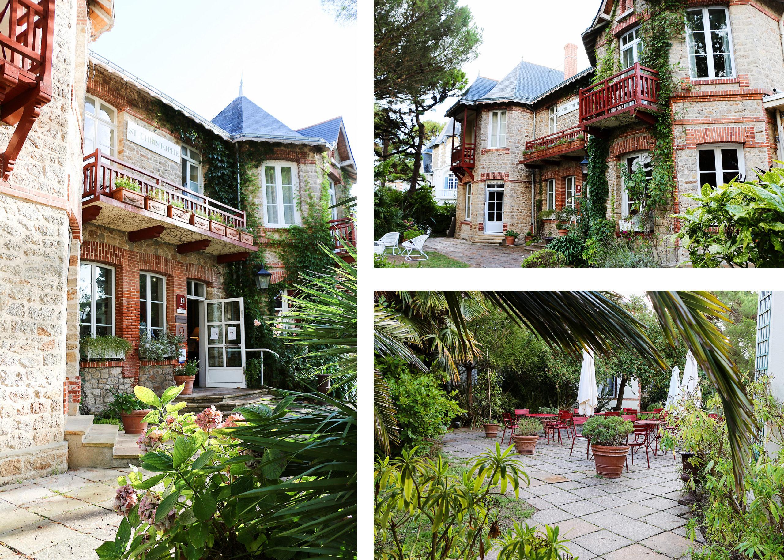 hôtel le Saint-Christophe La Baule Bretagne