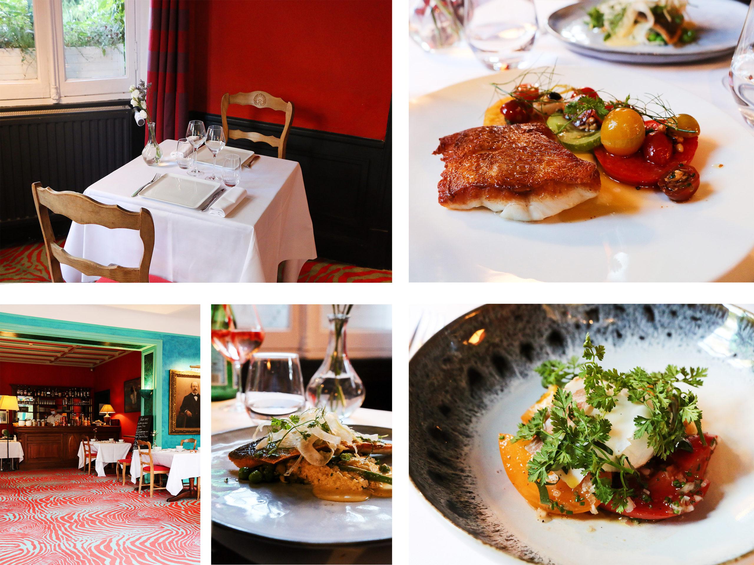 restaurant chef menu table hôtel le Saint-Christophe La Baule Bretagne