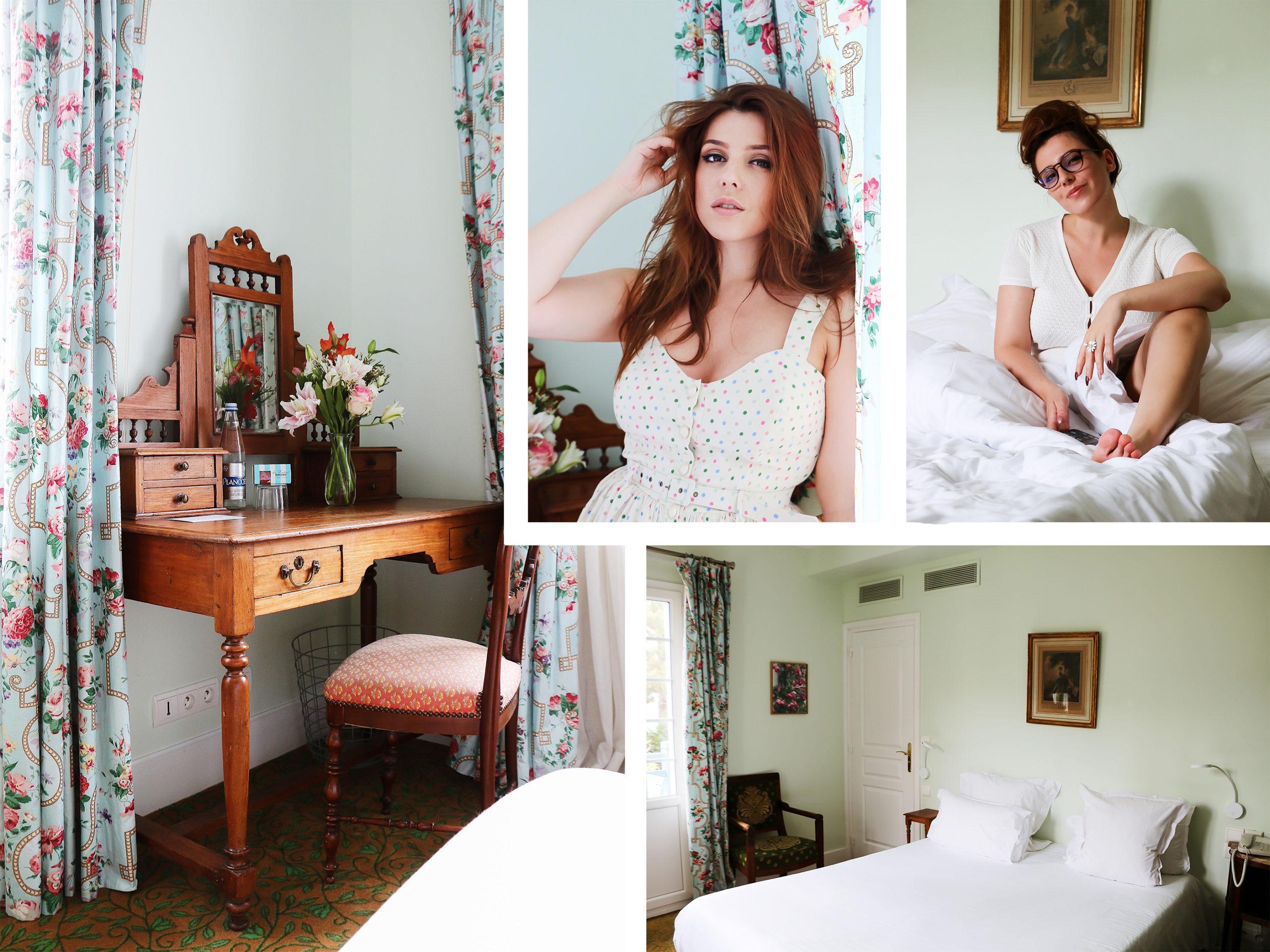 chambre vintage rétro hôtel le Saint-Christophe La Baule Bretagne