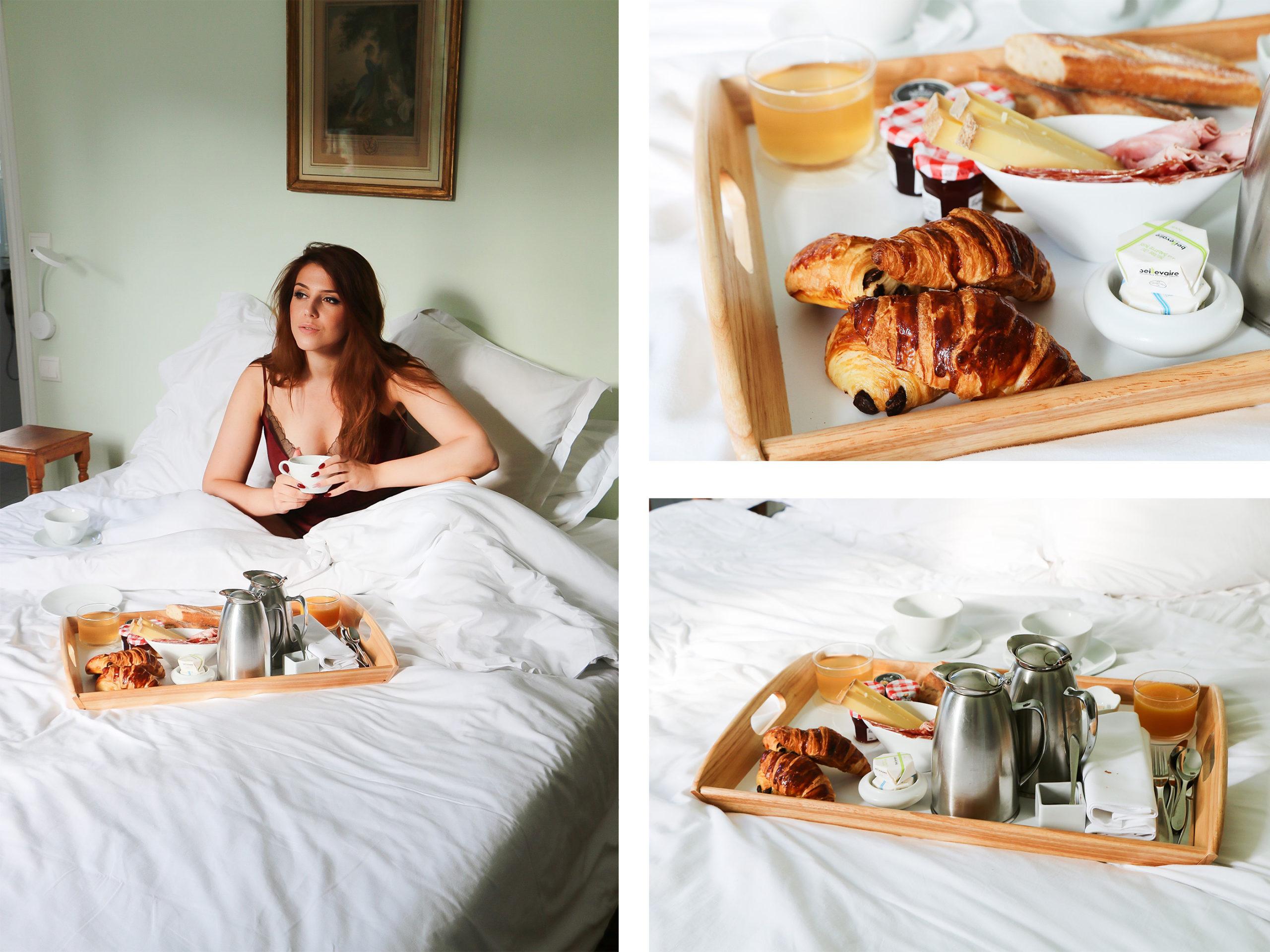 petit déjeuner hôtel le Saint-Christophe La Baule Bretagne