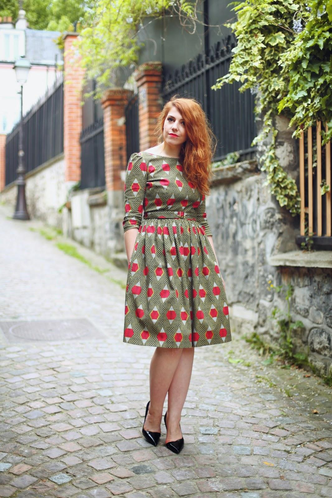 marilyn feltz, creteur français, mode rétro, mode vintage, mode année 50