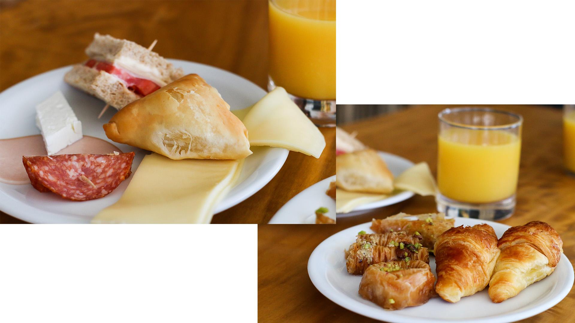Hôtel à Fira Santorin Calm Collection villa vacances petit déjeuner restaurant