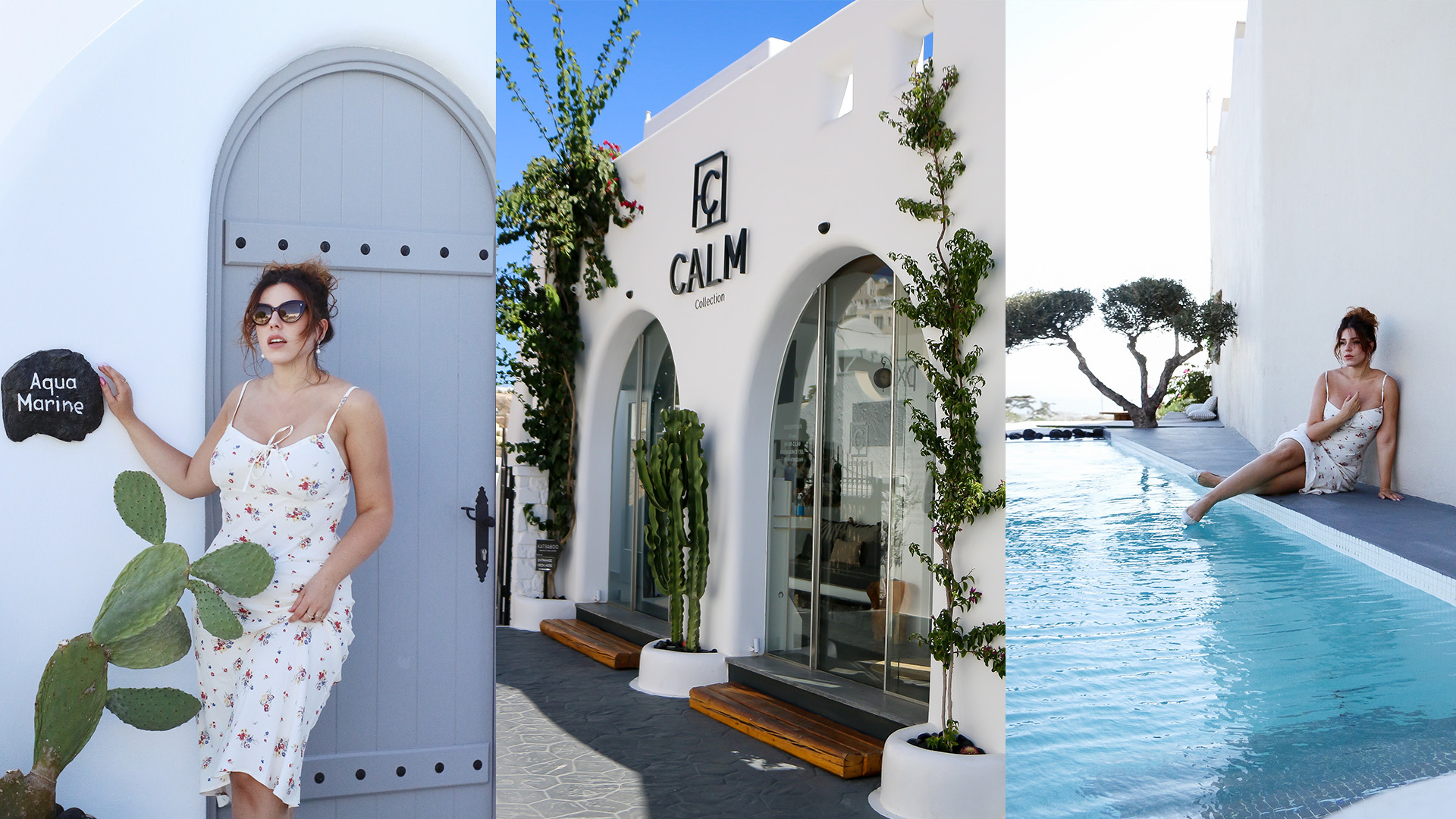 Hôtel à Fira Santorin Calm Collection villa vacances