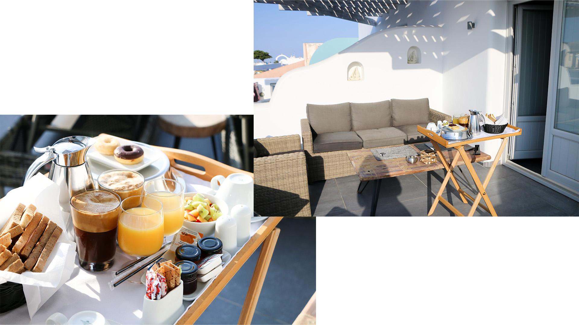 hotel-oia-elitoz-suite-santorin-avis-luxe-voyage-grèce-petit-déjeuner