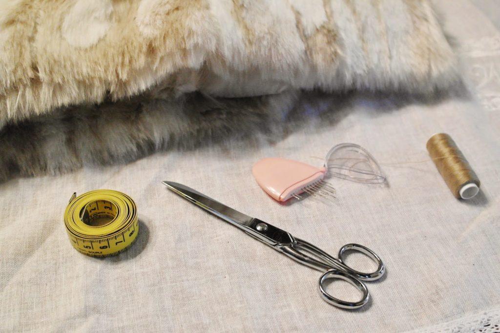 Tuto DIY : Le col en fourrure vintage